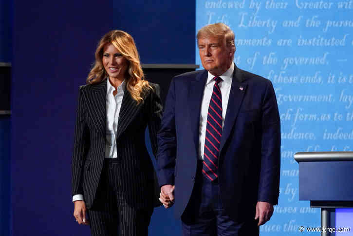 First lady lies low, Trump back on the trail after COVID-19