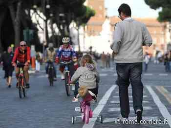Roma, domenica 18 torna «Vialibera»: la città per ciclisti e pedoni - Corriere Roma