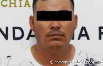 Cumplimenta FGE orden de aprehensión por homicidio en Mapastepec - Quadratín Chiapas
