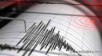 Registran sismo de 5.5 Mapastepec, Chiapas - Puente Libre La Noticia Digital