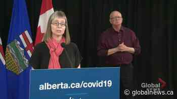 AHS COVID-19 testing centres shift back to appointment-only, Hinshaw asks people to show up