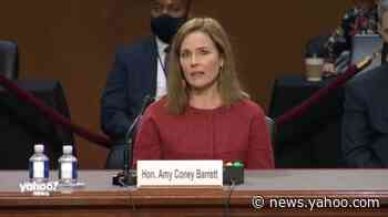 Barrett declines to answer question on gay marriage, citing 'Ginsburg Rule'