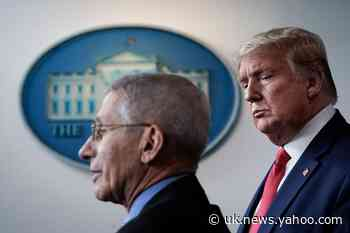 How Trump and Fauci publicly fell out of love