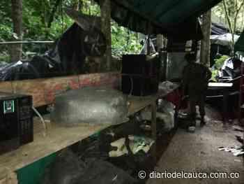 En Cumbitara, Nariño, destruidos dos potentes cristalizaderos para procesar coca - Diario del Cauca