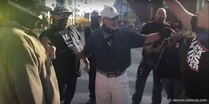 Cell Phone Video Shows Seconds Before And After Protester Was Shot At Denver Rally