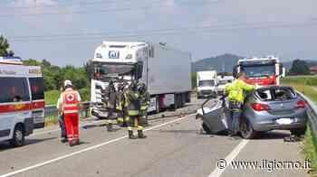Bolgare, tragico incidente fra auto e tir: morto 60enne - IL GIORNO