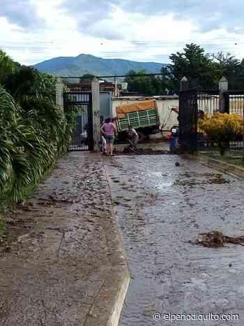 Afectaciones en Turmero luego de desbordamiento del río - El Periodiquito