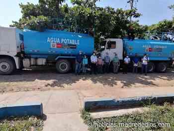 Madre de Dios: Inicia programa de agua potable gratuita que beneficiará a más de 3 mil personas - Radio Madre de Dios