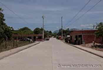 Entregaron vía urbana en Ambalema- Tolima - Alerta Tolima
