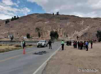 Violento choque en la carretera Pativilca–Huaraz deja un muerto y tres heridos - Agencia Andina