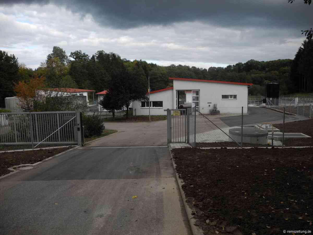 Kläranlage in Alfdorf eingeweiht - Rems-Zeitung