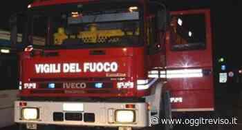 Castello di Godego, fiamme in concessionaria. - Oggi Treviso