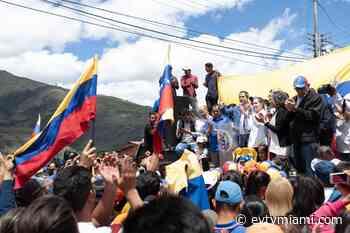 """Presidente Guaidó desde Mucuchíes: """"Si pretenden atornillarse en el poder, entonces saldrán por las malas"""" - evtvmiami.com"""