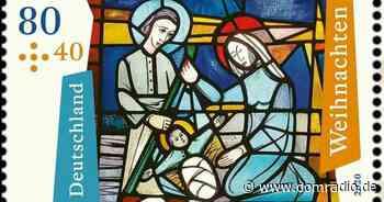 Weihnachtsbriefmarke zeigt Kirchenfenster aus Bad Soden   DOMRADIO.DE - domradio.de