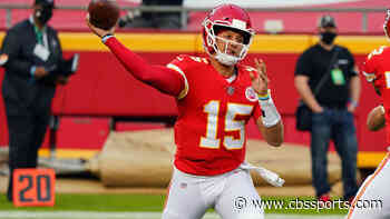 Patrick Mahomes reveals how far he can throw a football while teasing throw-off against Josh Allen - CBS Sports