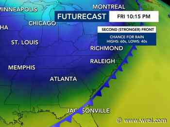 Cool air arrives, strong cold front coming this weekend