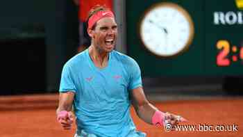 Rafael Nadal says he doubted whether he could win 2020 French Open