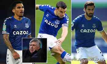 Triple injury boost for Everton ahead of huge Merseyside derby