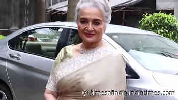 Asha Parekh reacts to vilification of Bollywood: It'll be good if all the rubbish goes away