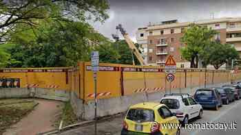 San Giovanni, via dell' Amba Aradam è stata liberata: tolti i bandoni della Metro C