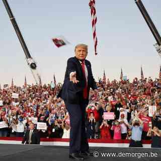 Het slotoffensief van Trump: rally's, rally's, rally's (met weinig oog voor coronagevaar)