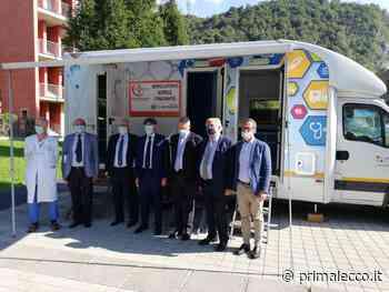 L'ambulatorio itinerante si ferma a Oggiono - Prima Lecco
