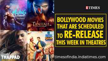 Bollywood movies that are scheduled to re-release this week in theatres