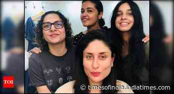 Bebo shares a stunning pic with her team