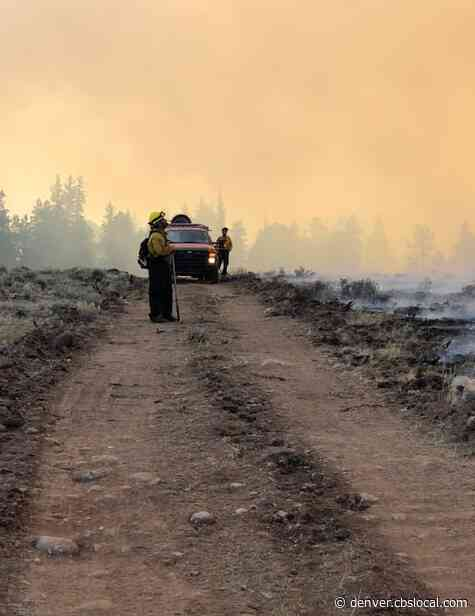 Cameron Peak Fire Has Flared Up, But Where Is The Smoke?