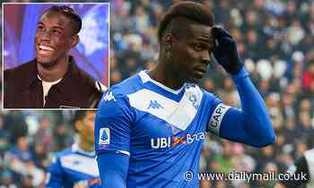 Mario Balotelli claims he's close to signing for another new club after Brescia exit