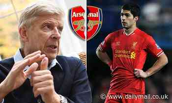 Arsene Wenger lifts the lid on Arsenal's 'ludicrous' £40m plus £1 offer for Luis Suarez in 2013