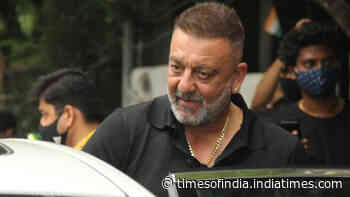 Sanjay Dutt heads out for a self-pampering session, looks dapper in his latest pictures