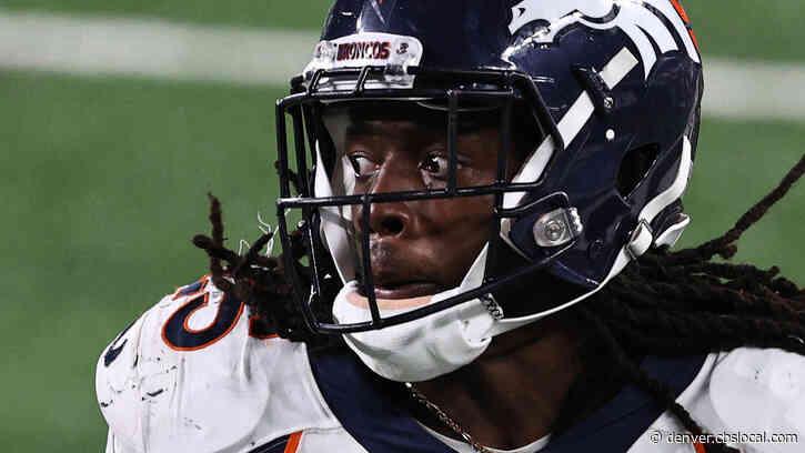 Broncos Running Back Melvin Gordon Cited For DUI, Speeding In Denver