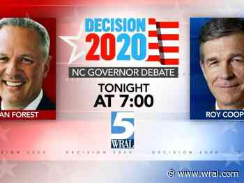Cooper, Forest meet in sole face-to-face debate