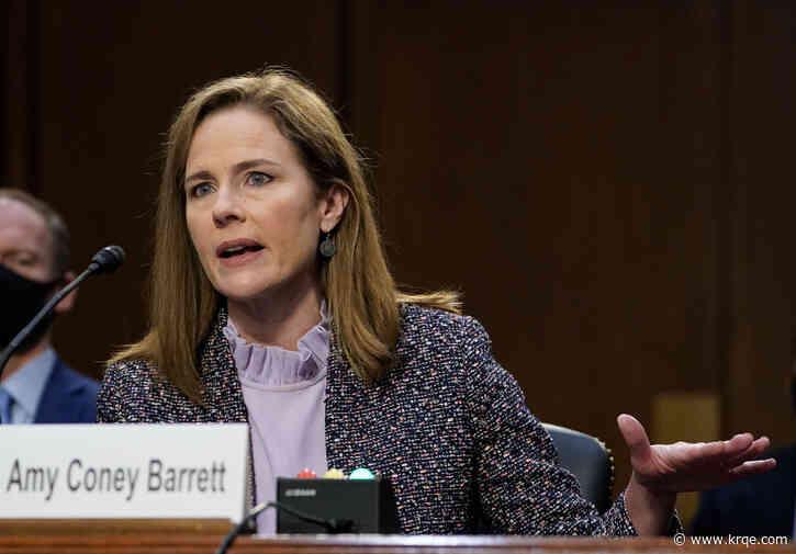 WATCH LIVE: Barrett tells doubtful Dems she'd keep open mind on court