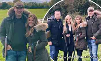John and Toni Terry enjoy a weekend escape as they celebrate his sister-in-law Julie's birthday - Daily Mail