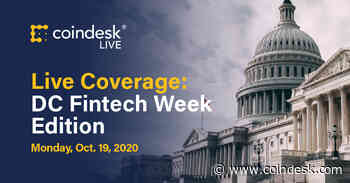 CoinDesk Joins IMF, CFTC, Swiss FINMA at DC Fintech Week