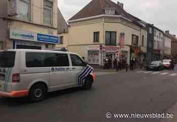 Politieactie in dagwinkel Brugse Poort
