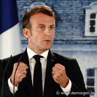 Live - Welke nieuwe maatregelen kondigt Emmanuel Macron aan?