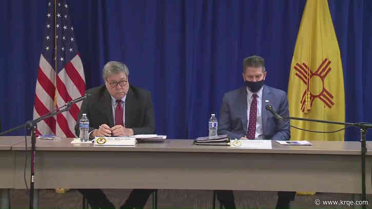 AG Barr, officials highlight Operation Legend efforts in Albuquerque