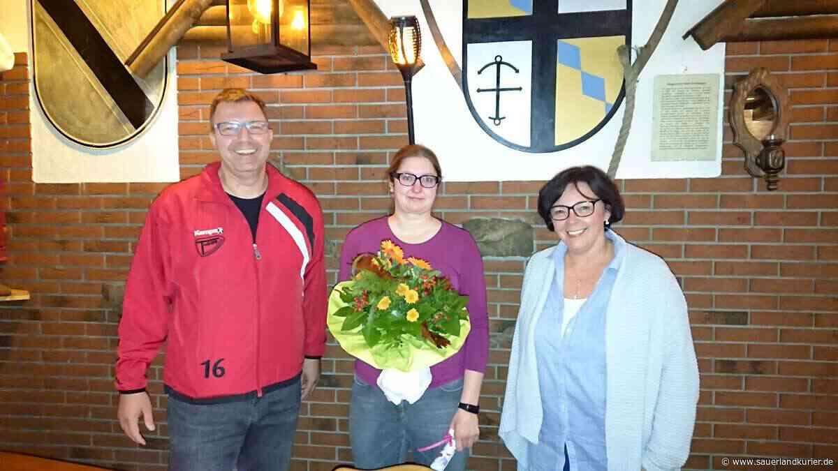 Bei der Jahreshauptversammlung des TuS 09 Drolshagen wurde Manuela Krause für ihr Engagement gewürdigt. - sauerlandkurier.de