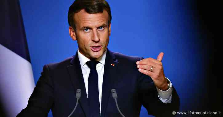 """Francia, Macron alla nazione: """"Coprifuoco a Parigi e nelle città in stato di massima allerta"""""""