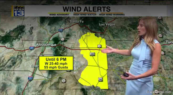 Erica's Wednesday Afternoon Forecast