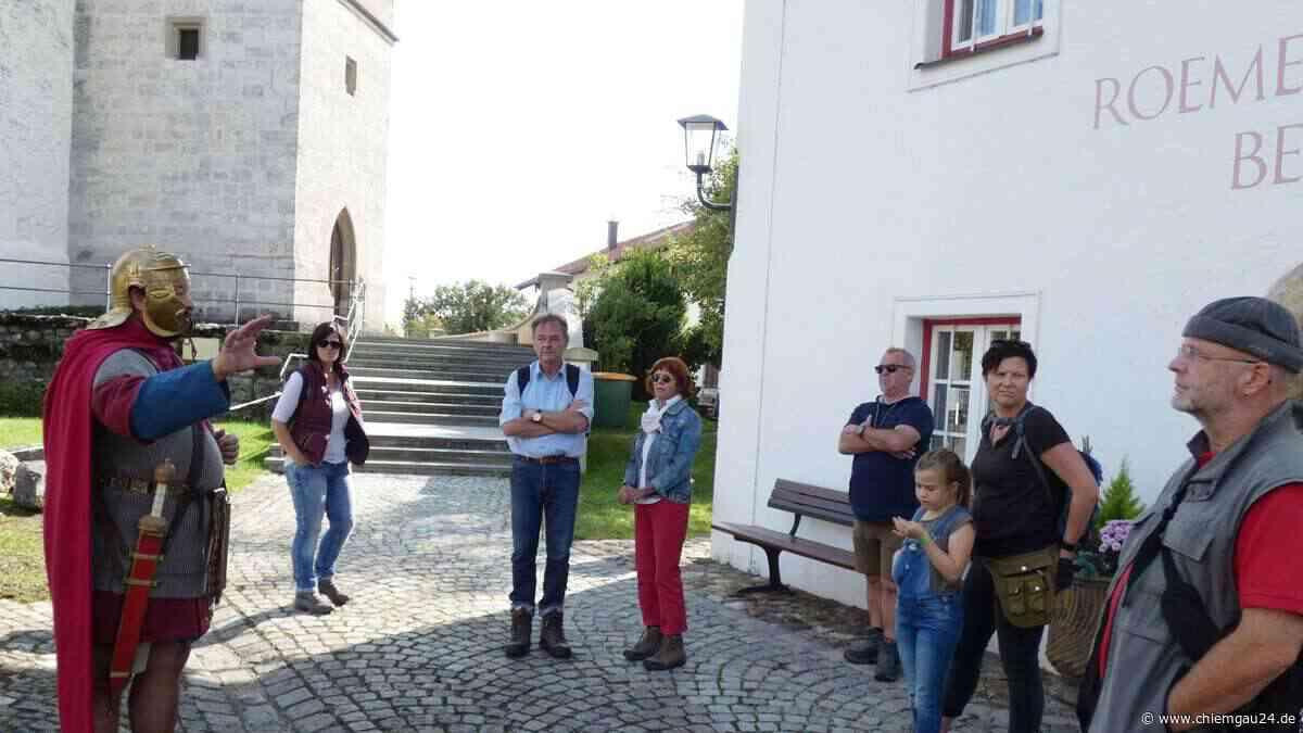 Seeon-Seebruck: Chiemgauer Wanderherbst – Saisonverlängerung mit dem letzten lebenden Römer von Seebruck - chiemgau24.de