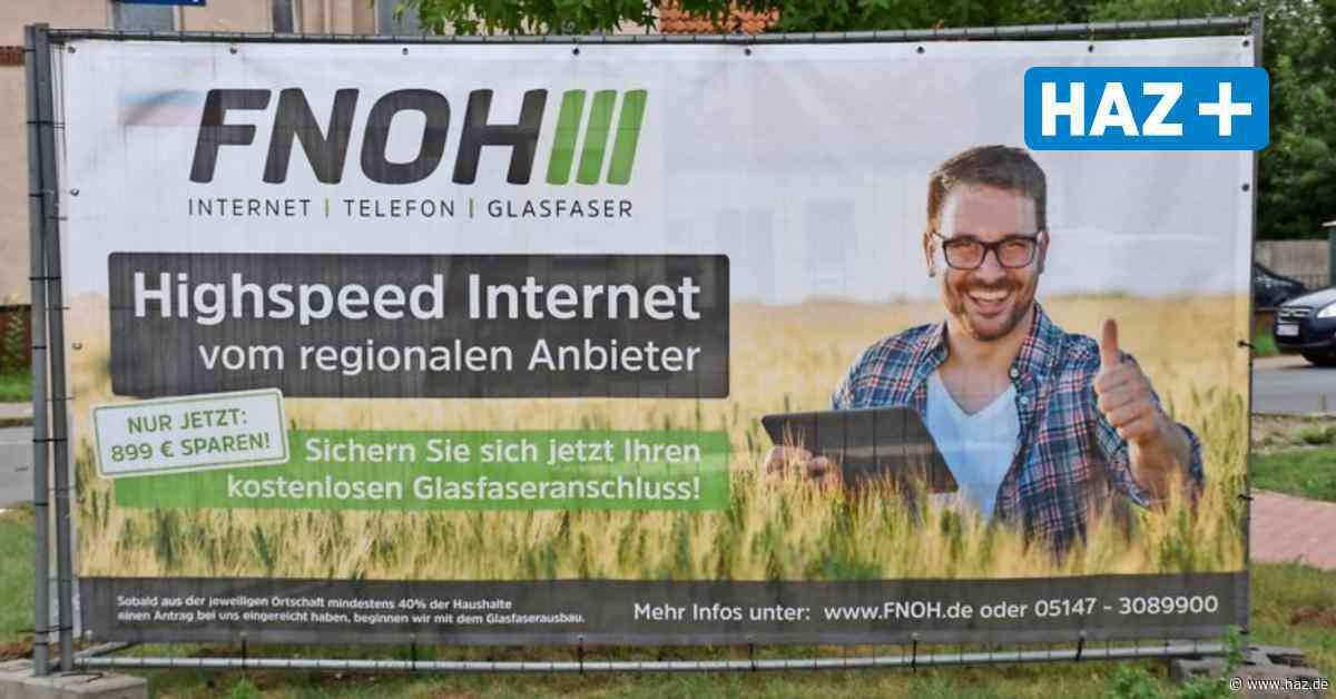 Schnelles Internet in Uetze: FNOH-DSL informiert über Glasfaser-Ausbau in Gemeinde - Hannoversche Allgemeine