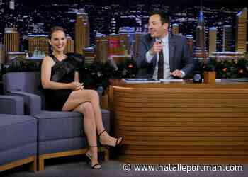 Natalie at the Tonight Show Next Week