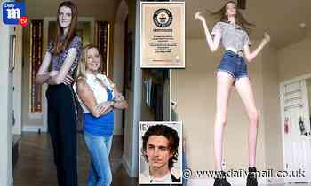 6ft 10in Texan girl, 17, has world's longest legs at 4ft 5in