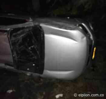 Alcalde de Pailitas se accidentó cuando regresaba de Bogotá: solo hubo daños materiales - ElPilón.com.co