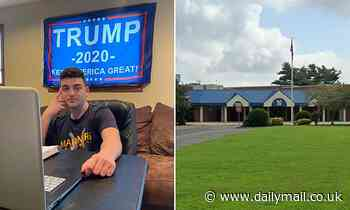 New Jersey high school student kicked out of virtual class for having Trump banner in background