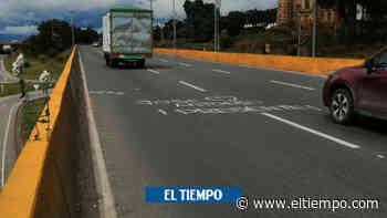 Los tres puntos fatales para los ciclistas en la vía Chía-Sopó - El Tiempo